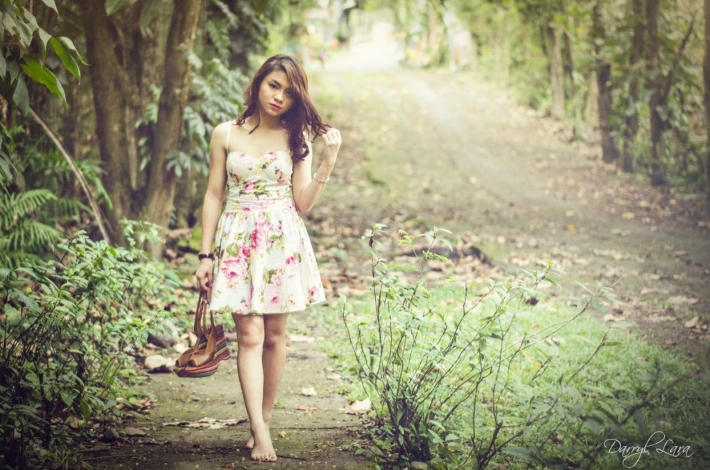 I always choose secluded parks or public areas for my portraits…