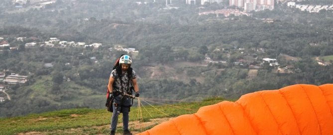 Paragliding Photography Tips