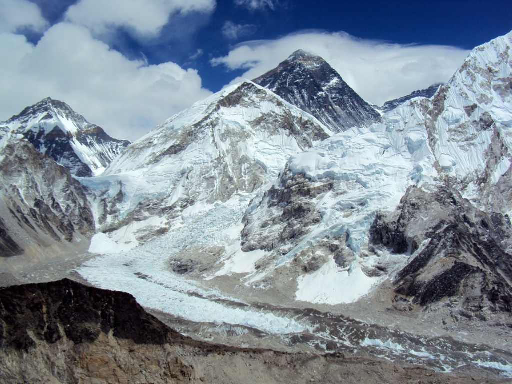 Mount Everest from Kalapathar