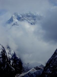 Mountains in the Himalayas