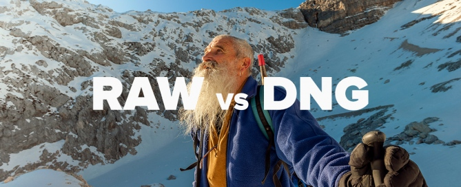 RAW VS DNG