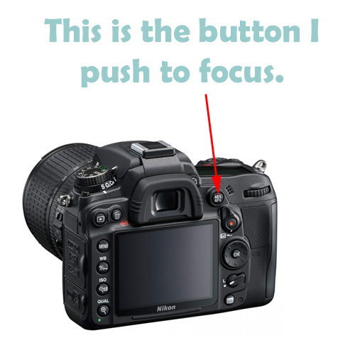 Back button for Nikon