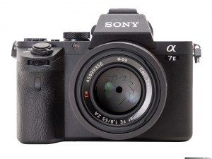 Sony Alpha A7 II - Front view
