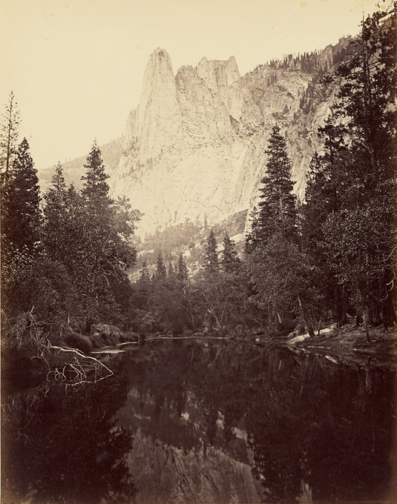 Carleton Watkins (American, 1829 - 1916) The Sentinel, 3270 ft., 1865 - 1866, Albumen silver print 51.6 x 41.1 cm (20 5/16 x 16 3/16 in.) The J. Paul Getty Museum, Los Angeles